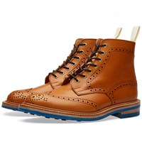 Trickers End. X Tricker's Club Sole Stow Boot Brown