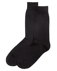 The Men's Store At Bloomingdale's Wool Blend Dress Socks Black