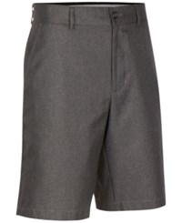 Greg Norman For Tasso Elba Men's Hounstooth Performance Shorts Only At Macy's Grey