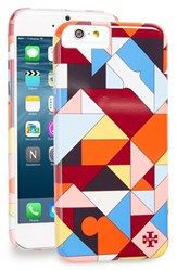 Tory Burch 'Logo Collage' Iphone 6 And 6S Case Orange Rust Poppy Red