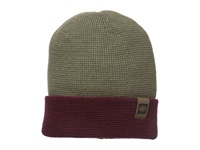 686 Waffe Roll Up Beanie Tobacco Knit Hats Brown