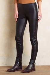 Ottod'ame Kames Leather Trousers Black