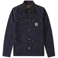 Carhartt Michigan Chore Coat Blue