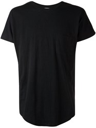 Chapter Chest Pocket T Shirt Black