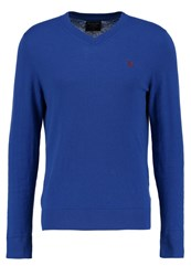 Abercrombie And Fitch Pop Icon Jumper Blue Royal Blue