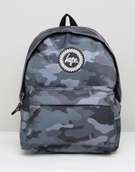 Hype Backpack In Black Camo Black