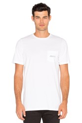 Stampd First Of All Pocket Tee White