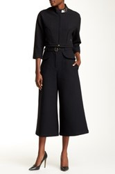 Tracy Reese Belted Culotte Pant Black
