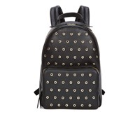 Red Valentino Redvalentino Women's Eyelet Backpack Black