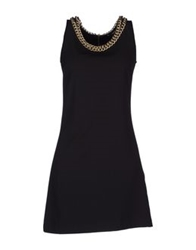 G.Sel Short Dresses Black