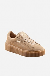 Puma By Rihanna Suede Creepers Brown