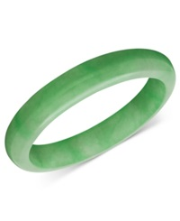 Macy's Jade Bangle Solid Bangle