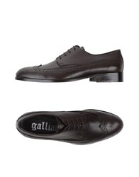 Galliano Footwear Lace Up Shoes Men Black