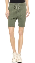 James Perse Slouch Sweat Shorts Brigade