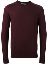 Givenchy Lightweight Knit Sweater Pink And Purple