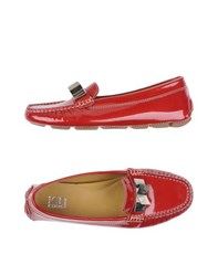 Ice Iceberg Footwear Moccasins Women Red