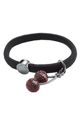 Marc By Marc Jacobs Two Cherries Hair Tie Black