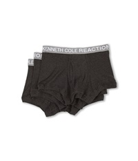 Kenneth Cole Reaction 3 Pack Trunk Grey Grey Grey Men's Underwear Gray