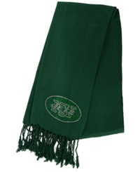 Little Earth Women's New York Jets Pashi Fan Scarf Green