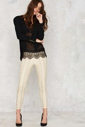 Nasty Gal Line And Dot Dalida Lace Up Leggings