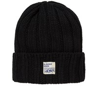 Mt. Rainier Design Knit Beanie Black