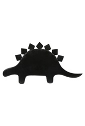 Forever 21 The Whitepepper Faux Leather Dinosaur Clutch Black