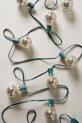 Mercury Glass Bulb Lights Anthropologie.Com