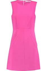 Diane Von Furstenberg Carpreena Stretch Jersey Mini Dress Pink