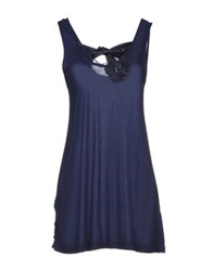 Just For You Tops Dark Blue