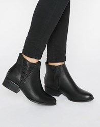 Call It Spring Onillan Heeled Ankle Boots Black Synthetic