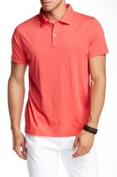 Mason Short Sleeve Jersey Polo Pink