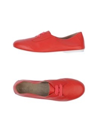 Aldo Brue Lace Up Shoes Red