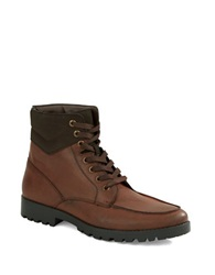 Unlisted By Kenneth Cole Upper Cut Faux Leather Boots Brown