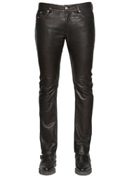 Diesel 17Cm Thavar Nappa Leather Pants