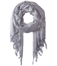 Love Quotes Linen Tassel Scarf Pebble Scarves Beige