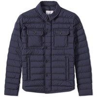 Moncler Andy Shirt Jacket Blue