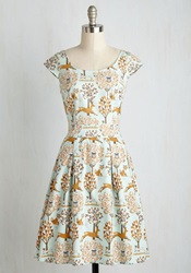 A Passing Prance Dress Mod Retro Vintage Dresses Modcloth.Com