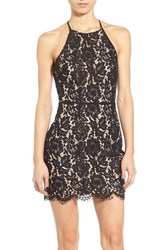 Women's Astr Lace Open Back Minidress