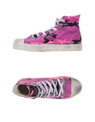 Gienchi High Top Sneakers Light Purple