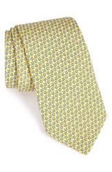 Vineyard Vines Men's 'Starfish Stars' Print Silk Tie Sunny