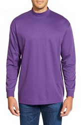 Men's Lone Cypress Pebble Beach Long Sleeve Shirt Heather Crown Jewel