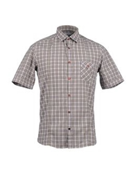 Aglini Short Sleeve Shirts Grey