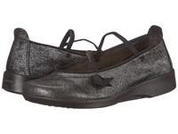 Arcopedico Vitoria Black Shimmer Women's Maryjane Shoes