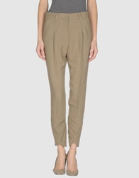 Dinou Casual Pants Military Green