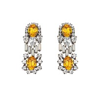 Darya London Chloe Sunflower Earrings Multi