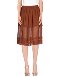 L'autre Chose L' Autre Chose Skirts 3 4 Length Skirts Women Brown