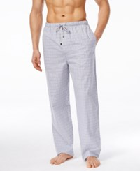 Michael Kors Men's Stardust Plaid Woven Pajama Pants
