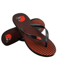 Forever Collectibles Cleveland Browns High End Flip Flops