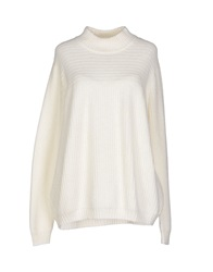 Selected Femme Turtlenecks White