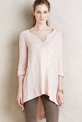 Anthropologie Adama Tee Pink